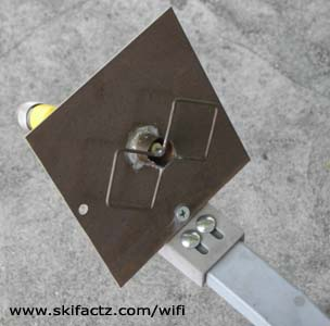 Mount a WiFi Antenna on a Satellite Dish | Skifactz WiFi Simple Hacks ...