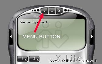 Xlite SIP client menu button